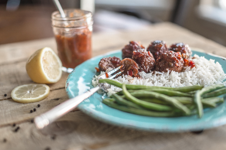 10 Min Prep Crock Pot Meatballs!